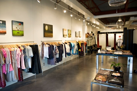 Inside Lüt Boutique