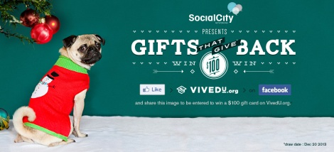 Social City Networking presents: Gifts that Give Back!