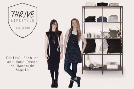 Thrive Lifestyle - Ethical Fashion & Homemade Decor // Handmade Studio - Located in Ganges on Salt Spring Island