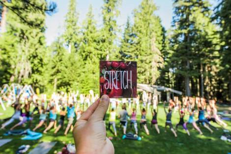 Top 3 Moments from Day 3 of #WANDERtribe at Wanderlust Whistler 2015 Saturday // Theme for the day: Connection // Written by Mara Falstein