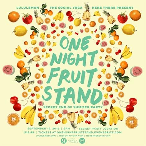 Fruit Stand - Still